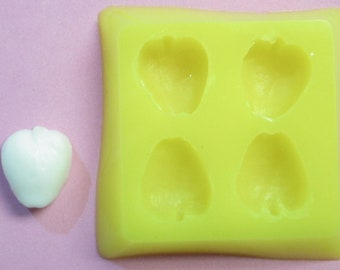 Apple candy molds - food safe silicone molds
