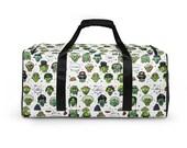 Zombie Duffle bag | Funny Zombie Duffle Bag | Gift for Zombie Lovers | Duffle Bag for kids | Zombie Overnight Bag | Weekender