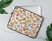 Kawaii Fast food Laptop Sleeve
