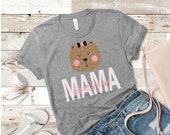 Mama Bear Shirt, mama bear t-shirt, mama baby bear, mama bear tee, mama bear top