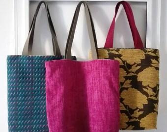 e01383e871 Tote bag - grocery bag - sac - wax - cabas - shopper - bag