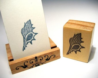 Hand Carved Stamp, Shell