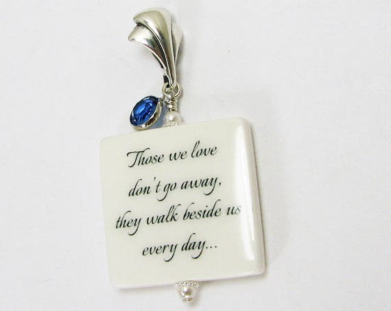 A Something Blue bridal bouquet Photo memorial charm for her wedding day and betond - BC2fa