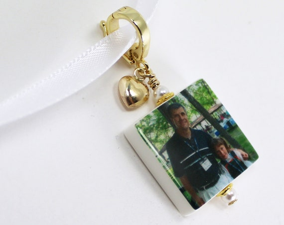 Gold Vermeil Edition Photo Pendant Keepsake