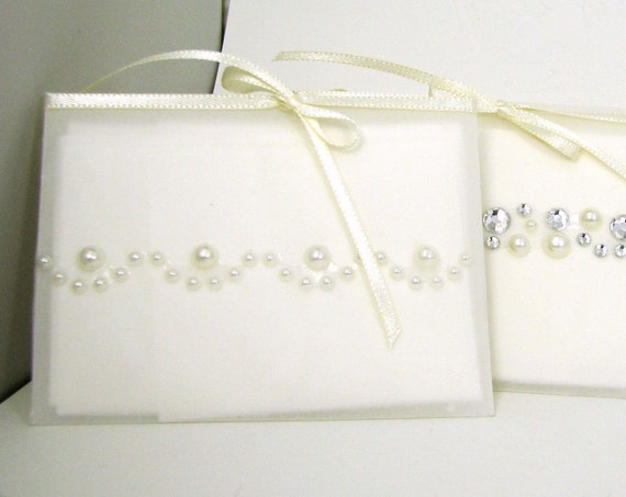 A set of 5 Gift Tissues in vellum envelopes - for those moved to tears.