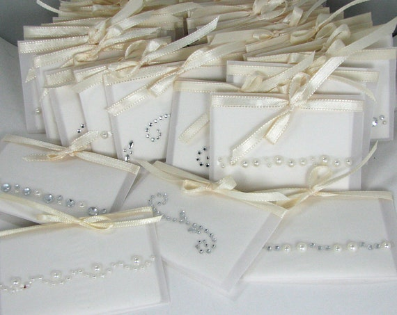 A Set of 30 Gift Tissues in velum envelopes
