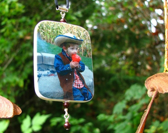Custom Christmas Photo Ornament - Small - O3RRec