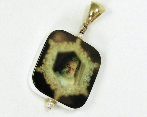 Photo Jewelry - 14K Gold Edition Photo Pendant