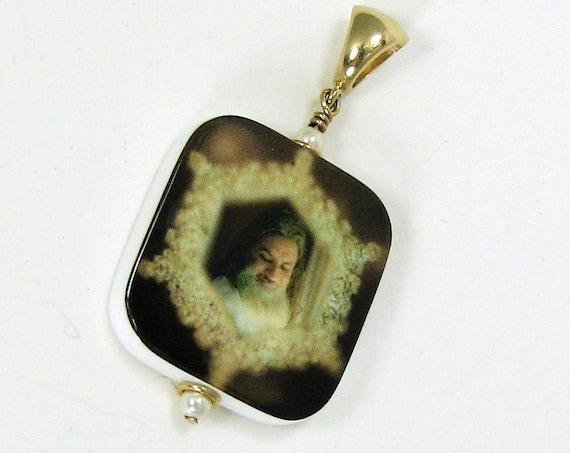 Photo Jewelry - 14K Gold Edition Photo Pendant