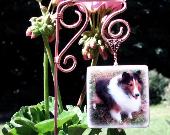 Photo Memorial Garden Stake - O1GS