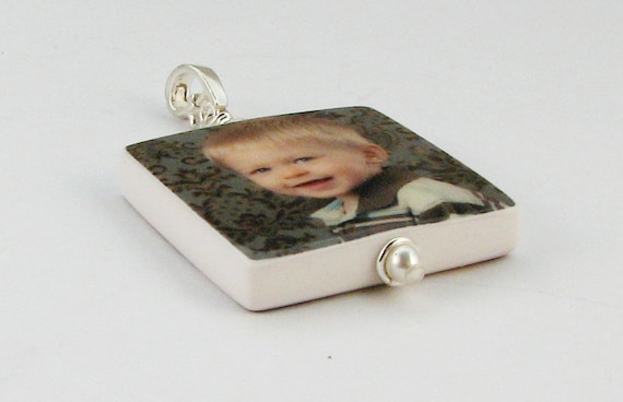 Photo Pendant Keepsake - Medium - P2