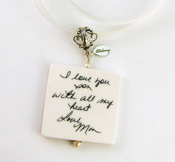 Bouquet Memorial Charm With Fancy Bail - Lg. Photo Memorial