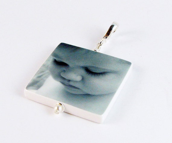 Custom, Heirloom Quality Photo Pendant - Large