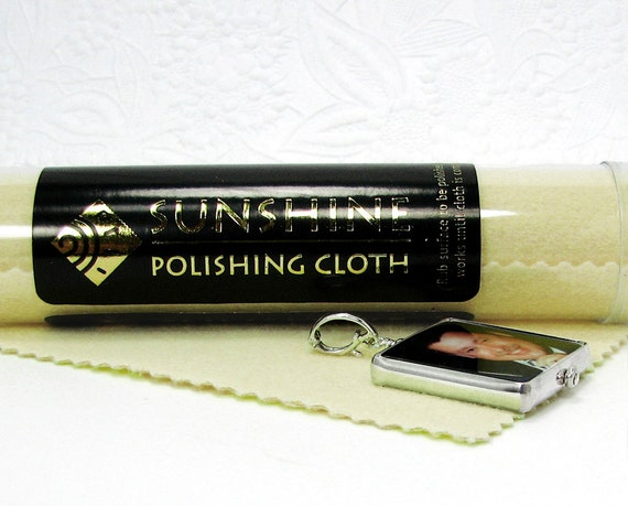 A Large Polishing Cloth to keep for yourself, or give with your gift - PC