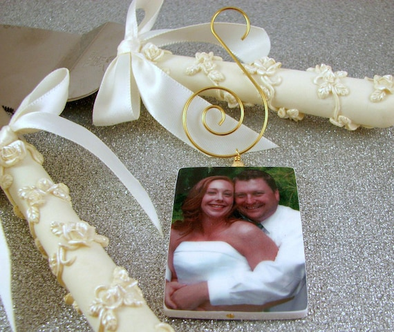 Custom Photo Ornament - Gold Edition Holiday Keepsake- Small - O3Rec