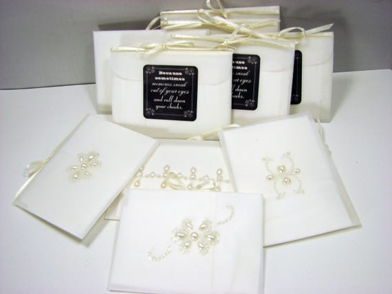 A Set of 10 Gift Tissues in velum envelopes - GT