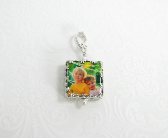 "Gallery Wrapped Photo Charm - XSM (.65"")"
