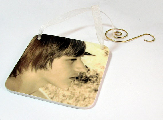 Photo Ornament for your Christmas Tree - One-sided Holiday Decoration - OOSR