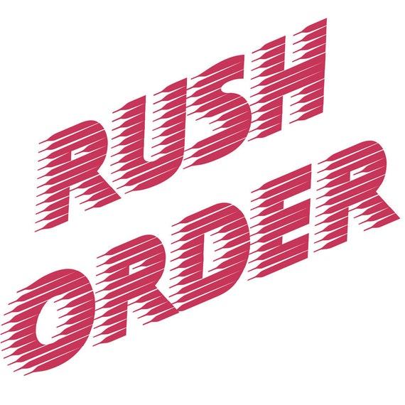 Custom Listing - Rush Status