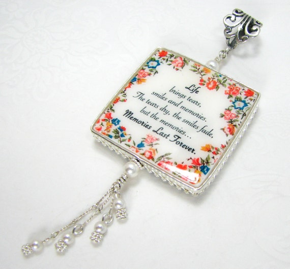 Wedding Memorial Photo Charm - Large - FBC1CfA