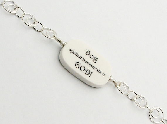 Loss of a Pet Charm Bracelet with two-sided Photo Charm - P1RB5
