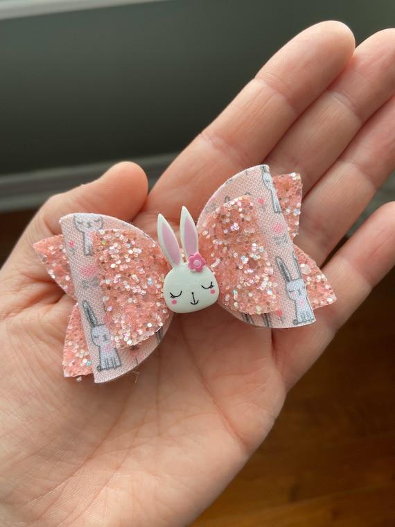Easter hair bow Bunny Hair bow