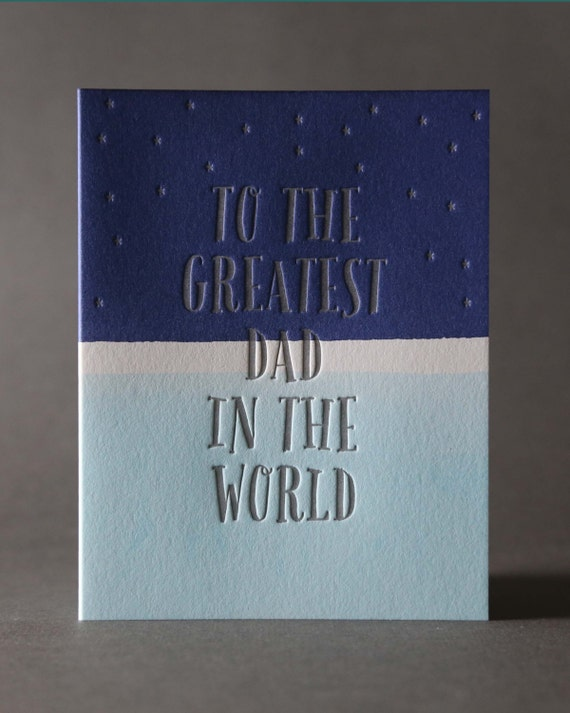 "Dip Dye ""Greatest Dad in the World"""
