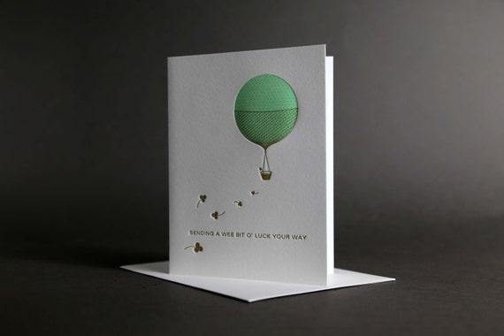 Good Luck Hot Air Balloon