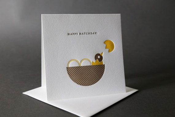 Nest + Chick Happy Hatchday