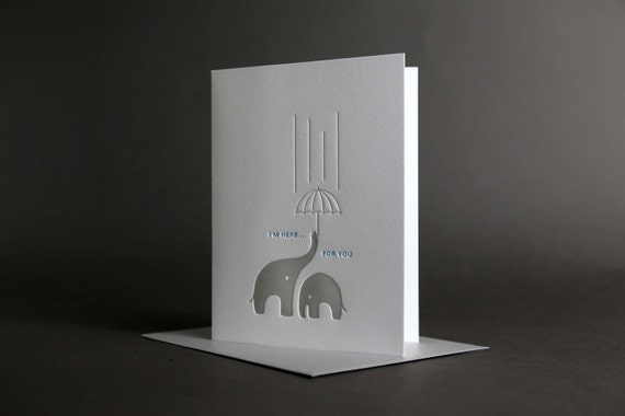 Elephant Umbrella Sympathy
