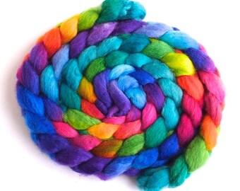 BFL Wool Hand-Spinners Roving - Petal Pedalers - Tour de Fleece 2021