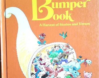 The Bumper Book Vintage Hardcover * Watty Piper * Eulalie * 1969