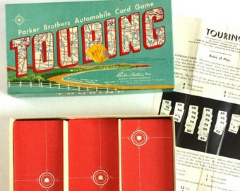 Vintage Touring Game 1950s * Parker Brothers