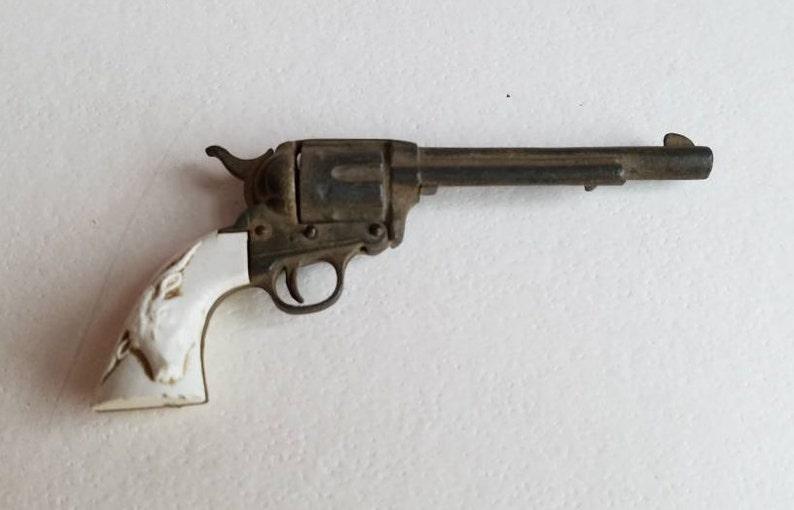 Vintage Toy Cap Gun Miniature Revolver 1950's