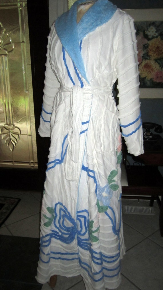 29355261ac ... Custom Handmade To Order  225.00 Item 51  Vintage Chenille Glamour Girl  Bath Robe   Women Retro Vintage Inspired   USA