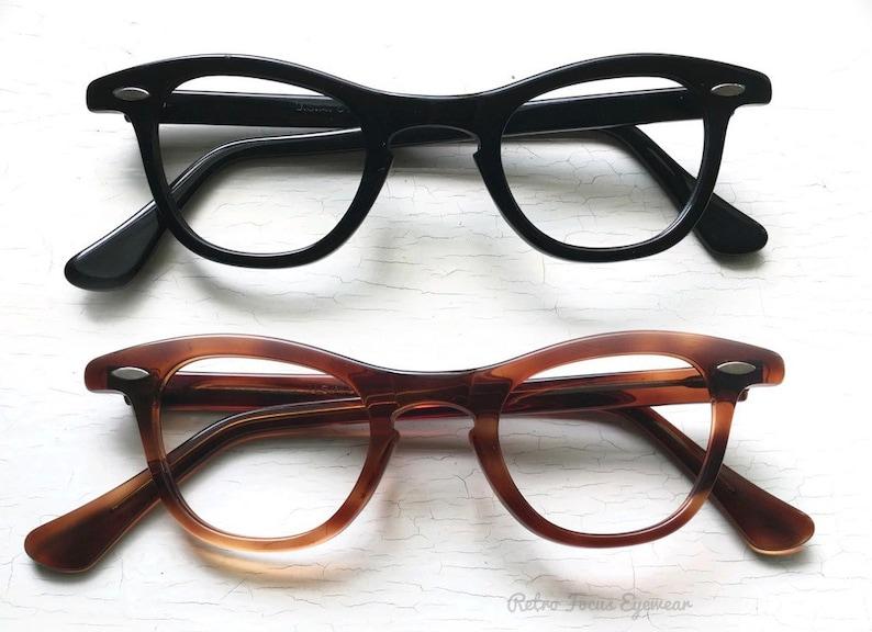 dcd6431b35c SRO NOS 50's 60's Hornrim Eyeglasses Eyewear Frames   Etsy