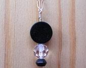Blackstone Tuxedo Necklace