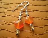 Warmth - Carnelian Earrings