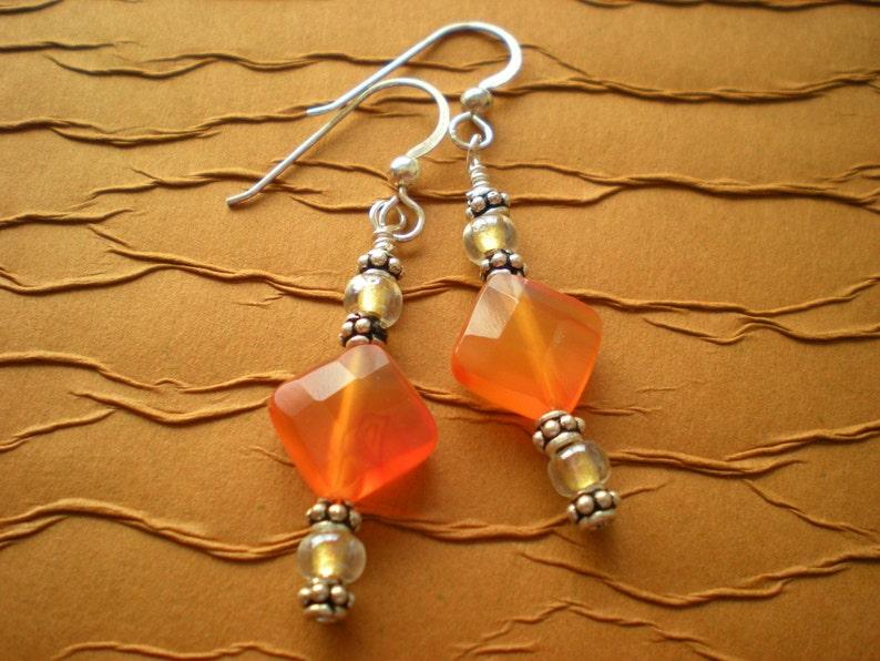 Warmth  Carnelian Earrings image 0