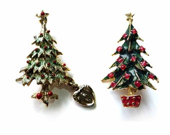 Fashion Jewelry Christmas Brooches Christmas Bows Sleigh Bells Brooches Christmas Pendant Drop Ornaments Hanging Christmas Decoration