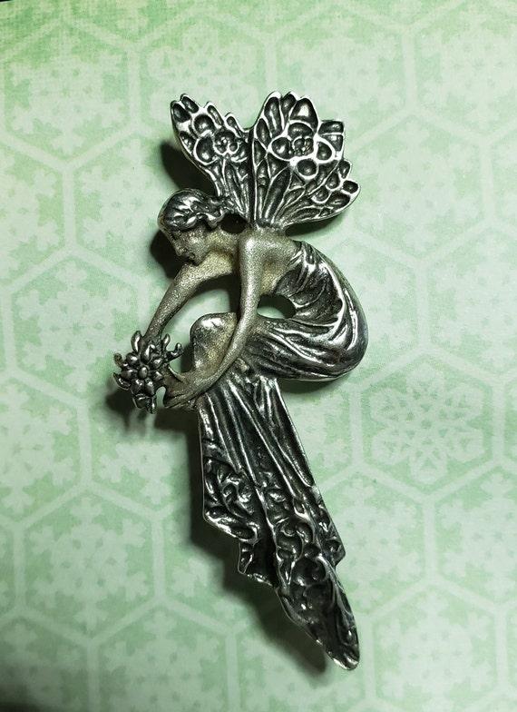 Fairy Brooche 925 Silver