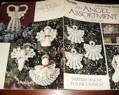 Thread Crochet Pattern An Angel Assortment to Crochet Leisure Arts 2192 Crocheting Pattern Leaflet Eunice Svinicki