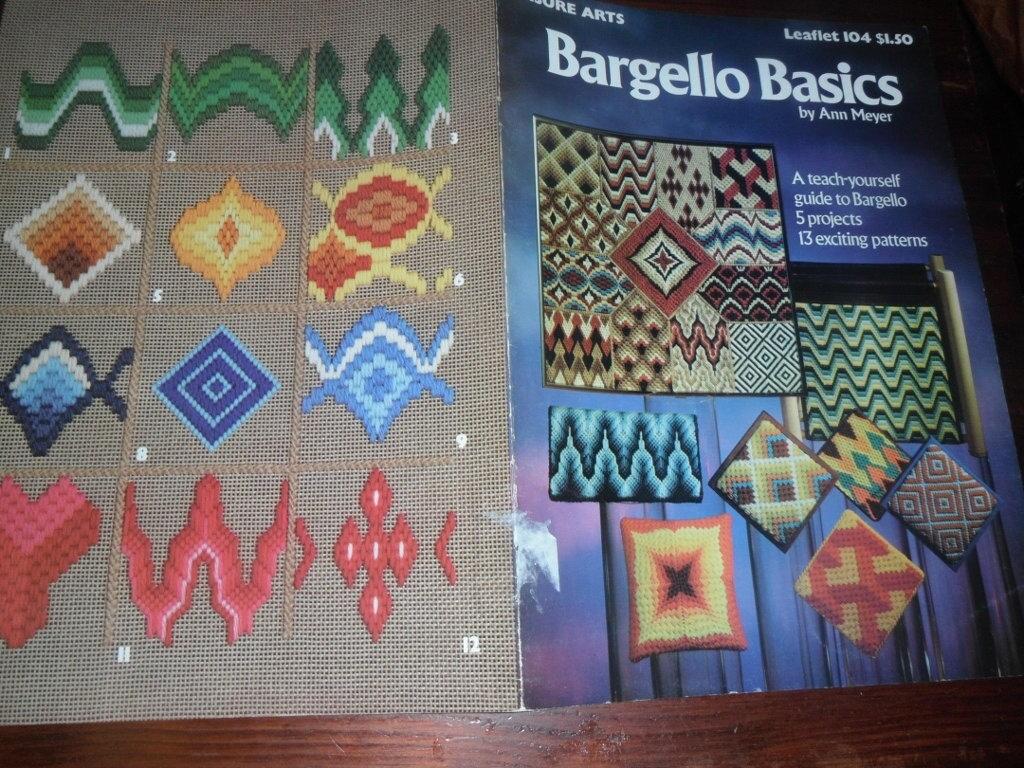 Patrones de bordado Bargello fundamentos ocio artes 104 patrón ...