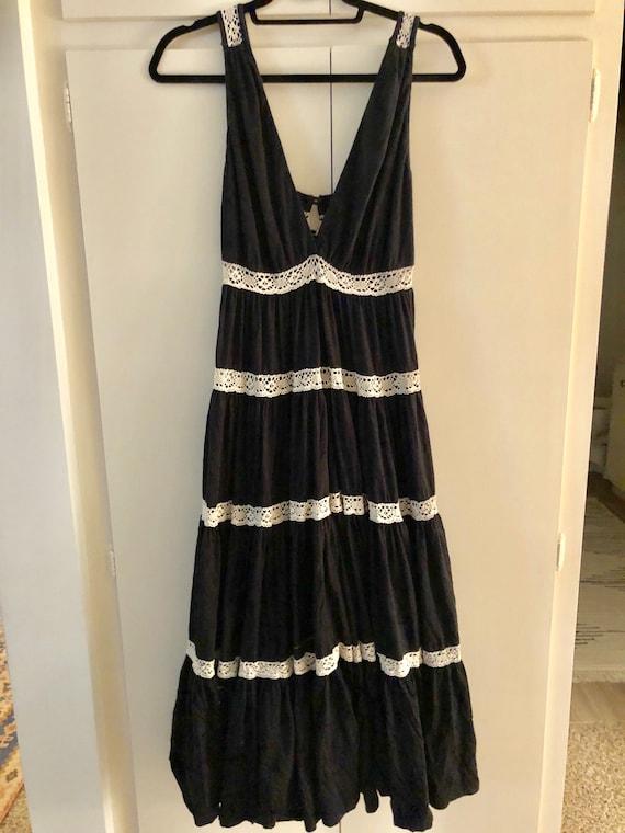 Vintage fiesta boho dress