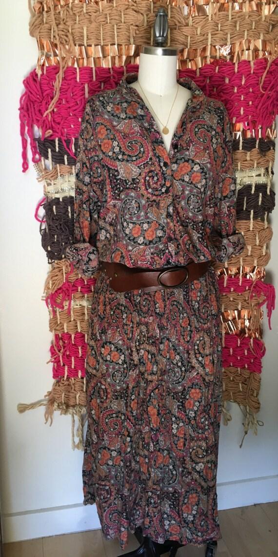 Vintage Adini Indian Gauze Dress