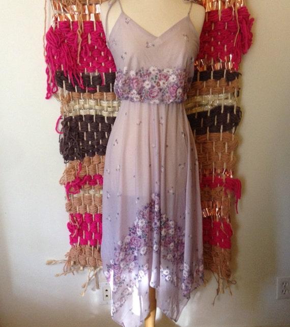 Emma Vintage 70's Floral sundress