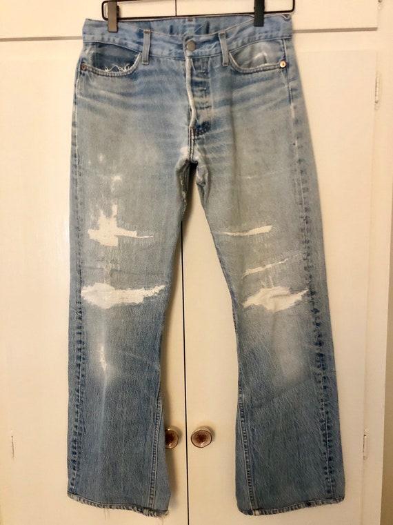 Vintage 70s Levi's flare jeans