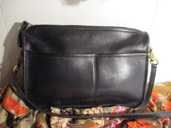 COACH Bag, United States Black leather Coach, Coac