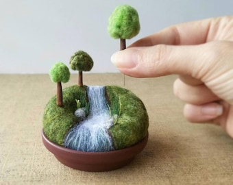 Playscape for Grown-ups Miniature Woodland Landscape Mini | Etsy