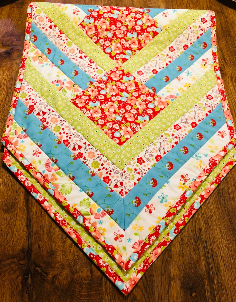 Colorful Surprise Table Runner